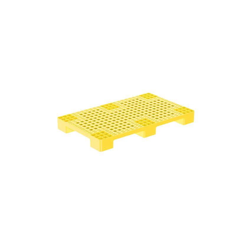 Pallet nhựa no.976 1000*600*100- màu vàng