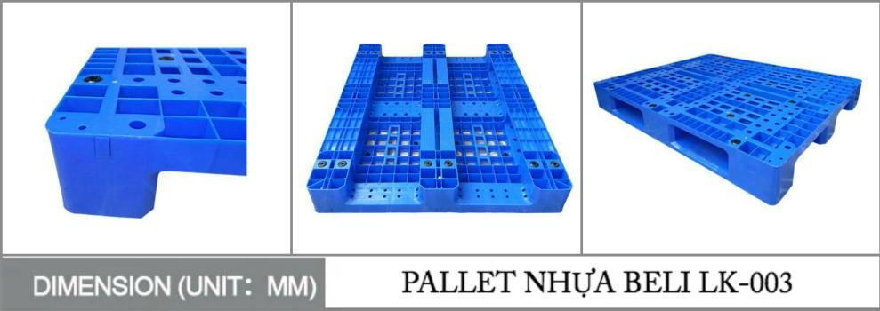 PALLET NHỰA BELI LK 003 HCM - Bộ sưu tập hình ảnh pallet nhựa - pallet gỗ