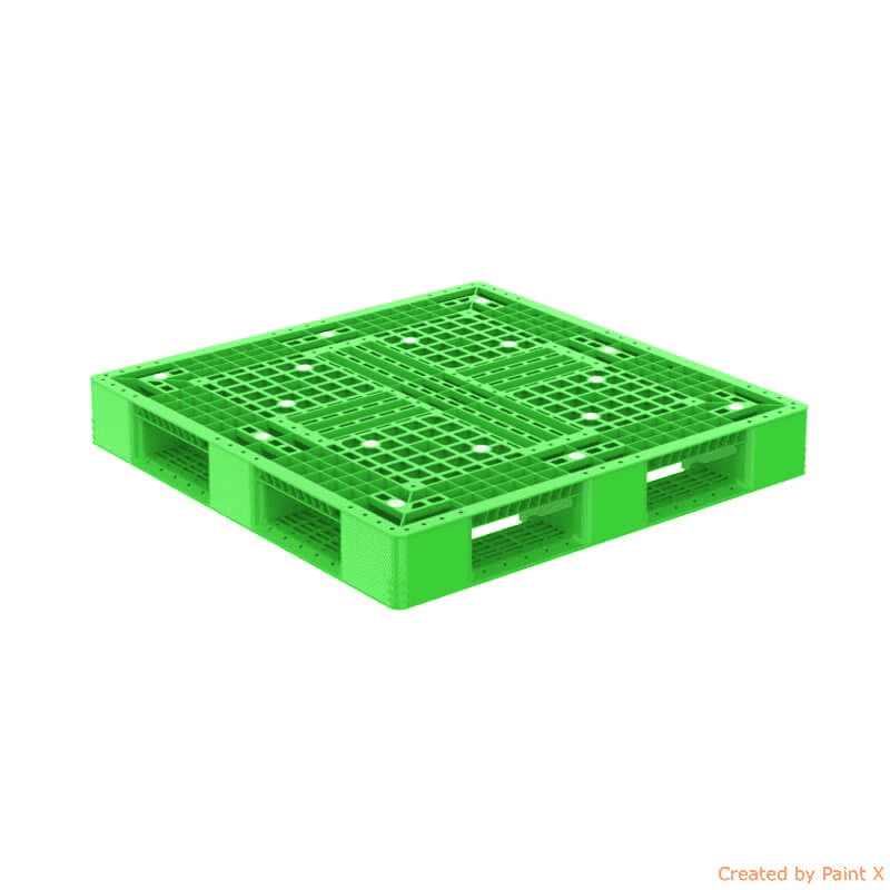 pallet nhua dt d4 977 mau xanh la optimized 1 - Bộ sưu tập hình ảnh pallet nhựa - pallet gỗ