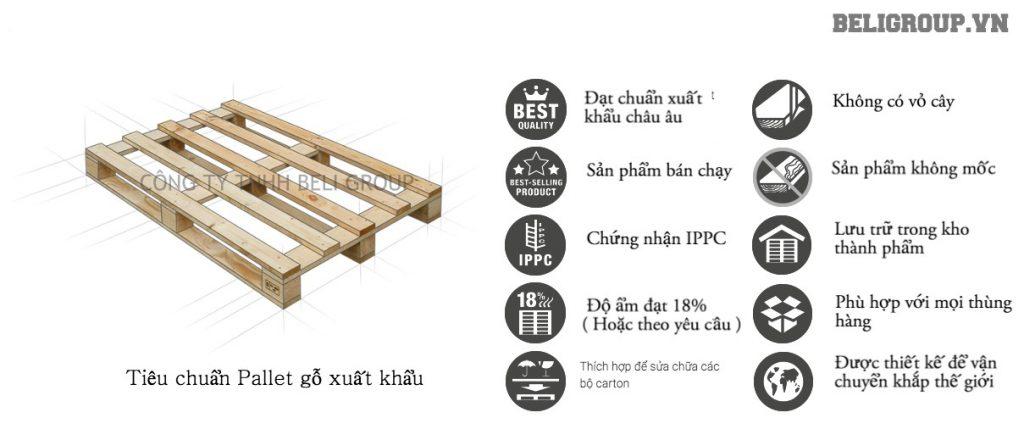 tiêu chuẩn chất lượng pallet gỗ xuất khẩu trong quy trình sản xuất 1024x446 - Quy trình sản xuất pallet gỗ chất lượng từ A- Z