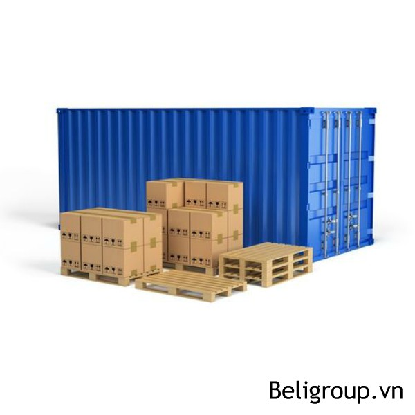 Hình công sài pallet gỗ mới xuất khẩu