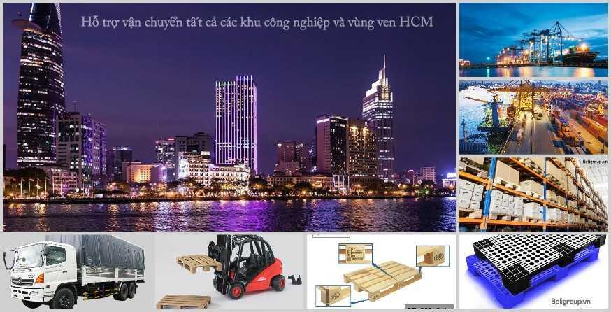 Hỗ trợ vận chuyển tất cả các khu công nghiệp và vùng ven HCM - Cửa Hàng