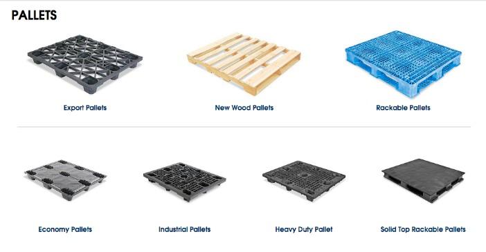 sản phẩm pallet nhựa và gỗ của công ty ULIN