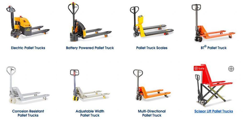 8 mẫu xe nâng điện phù hợp cho việc nâng pallet