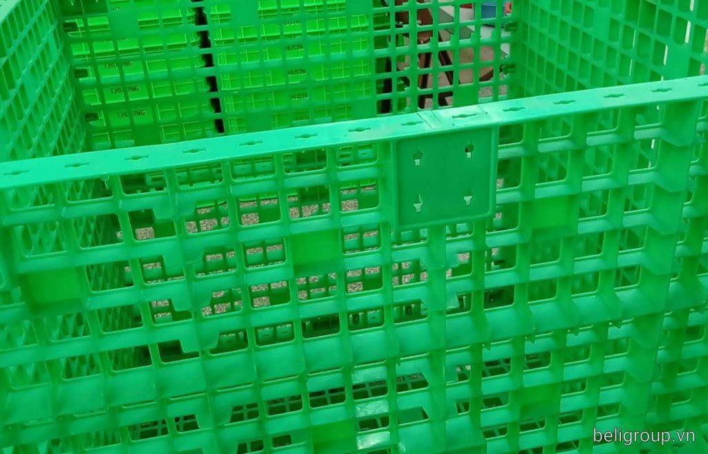 Box pallet nhựa 1024x657 - Bộ sưu tập hình ảnh pallet nhựa - pallet gỗ