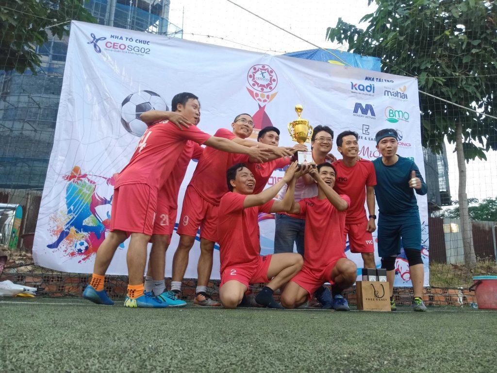Công ty Beli group tổ chức dải bóng đá cùng lớp CEO SG 02