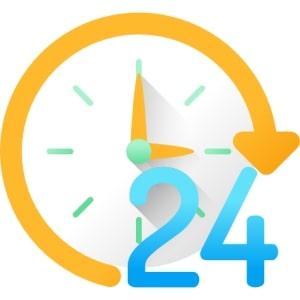 Hỗ trợ báo giá 24 giờ