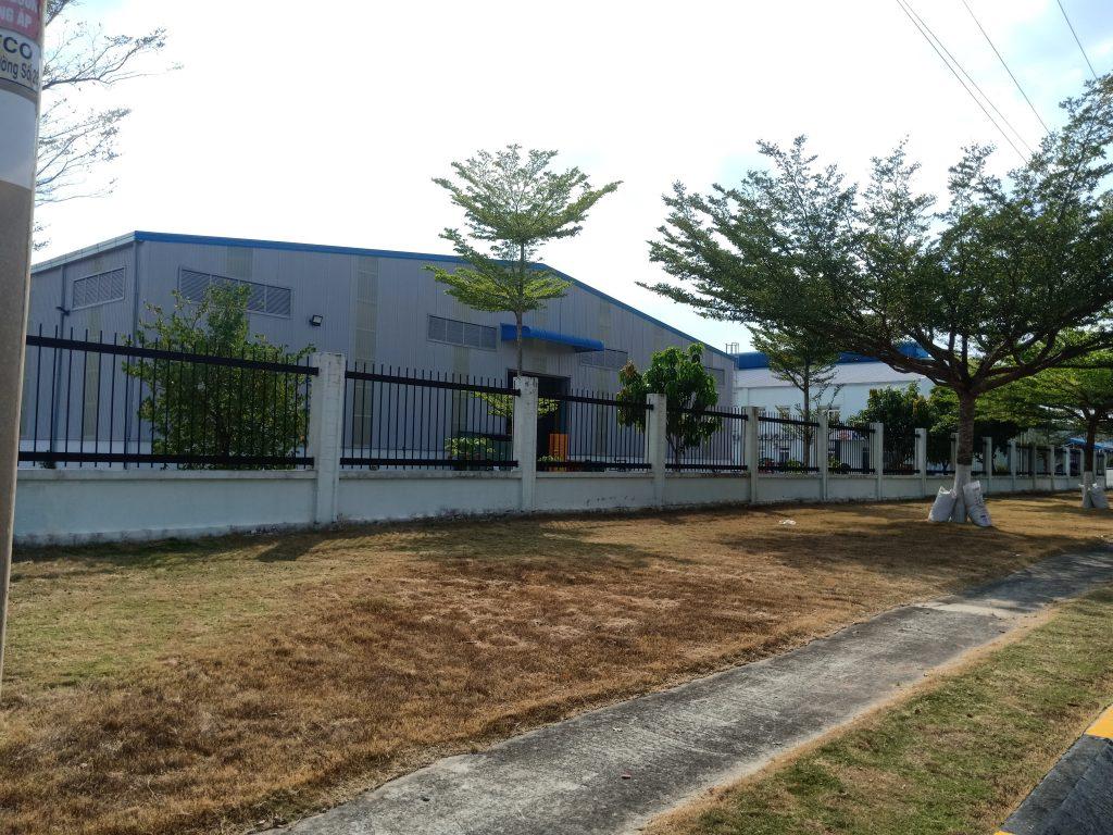 Nhà máy sản xuất pallet nhựa tại bình dương