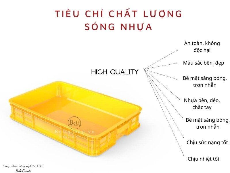 Đánh giá chất lượng sóng bít khay nhựa bít 1T0