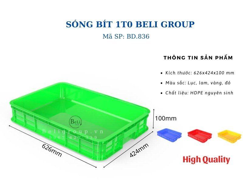 Khay nhựa bít 1T0 Beli Group