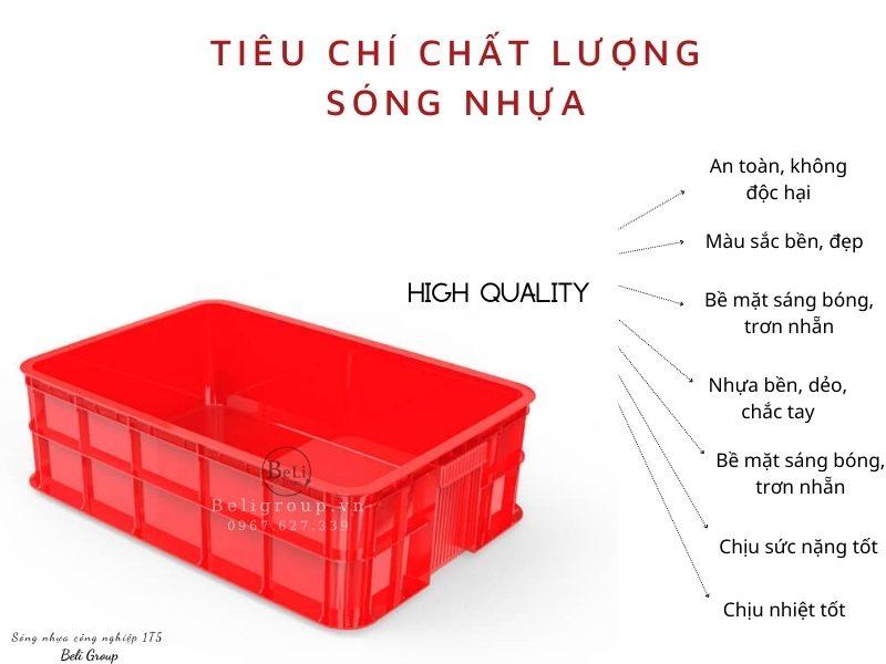 Đánh giá chất lượng khay nhựa bít 1T5