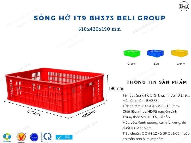 Khay nhựa hở 1T9 BH373 Beli Group