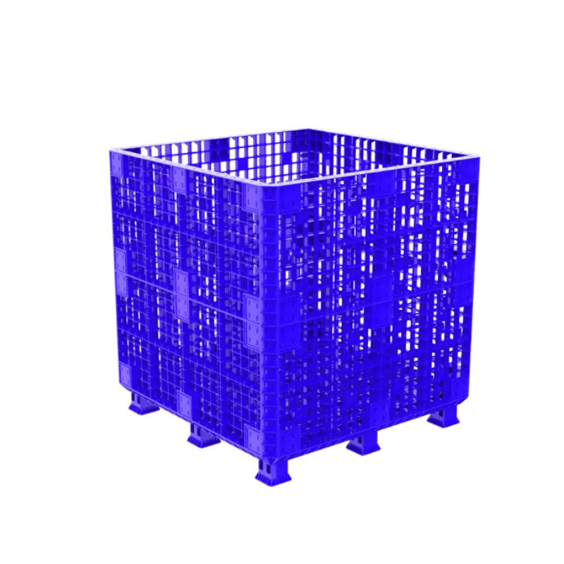 Pallet box 1.2M-1114 Blue