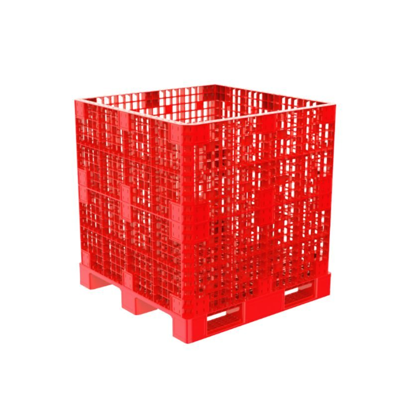 Pallet box 1.2M 1123 Red