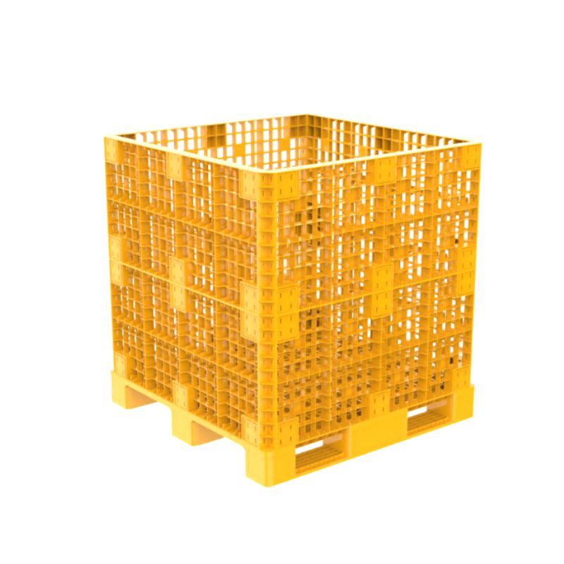 Pallet box 1.2M 1123 Yellow