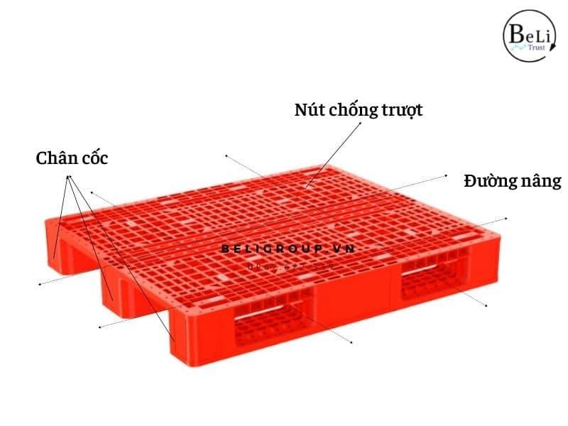Pallet nhựa DPS4 1345 Beli Group