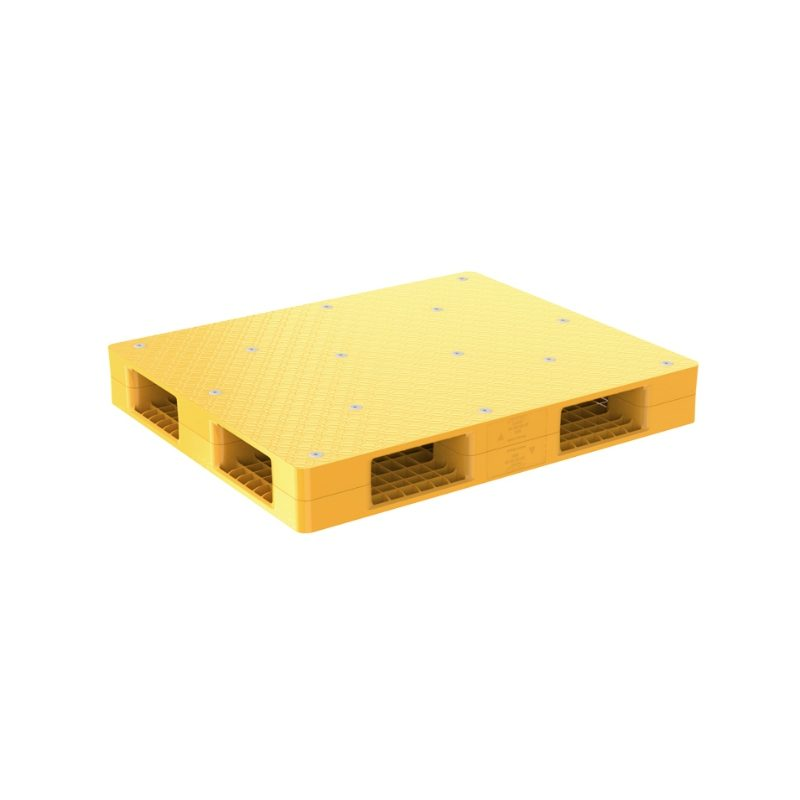 Pallet nhựa R4 1289 Yellow