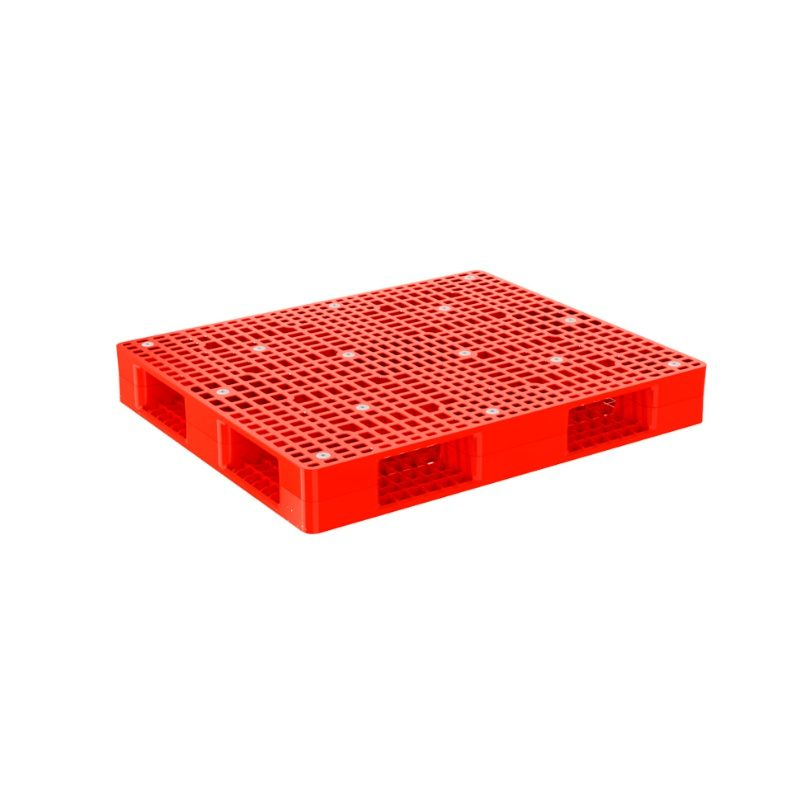 Pallet nhựa R4 1290 Red