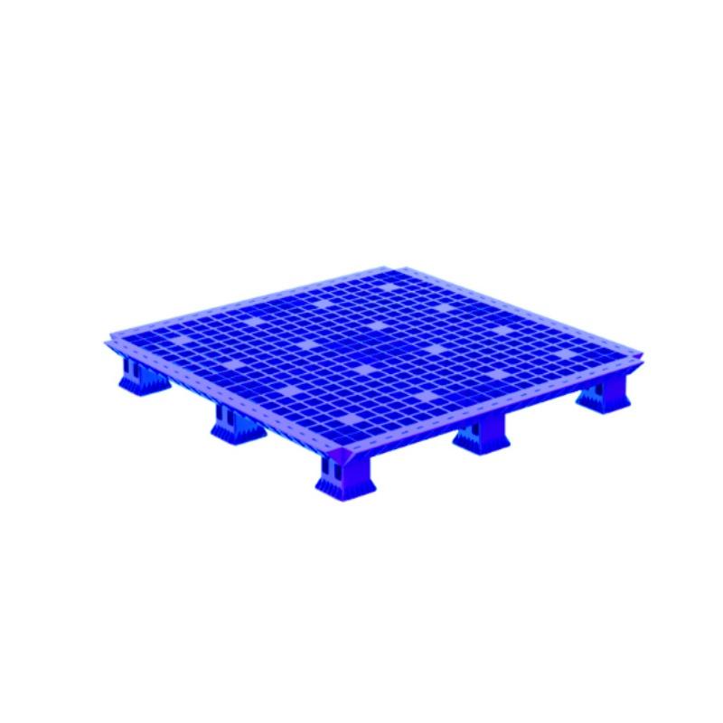 Pallet nhựa lắp ráp 1.1M Blue