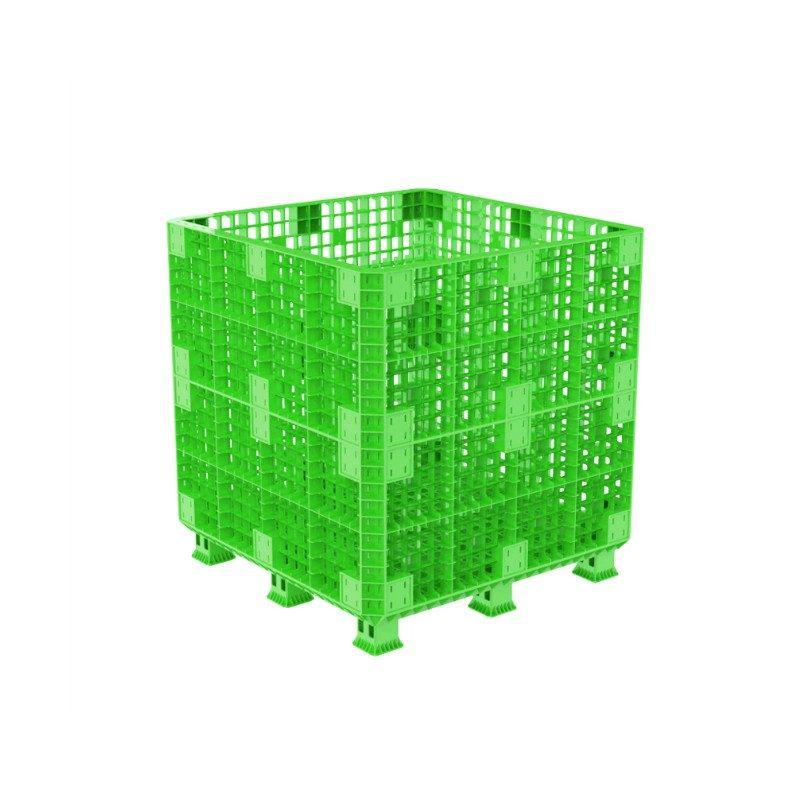 Sóng Lắp Ráp Pallet Box-1,1M Green
