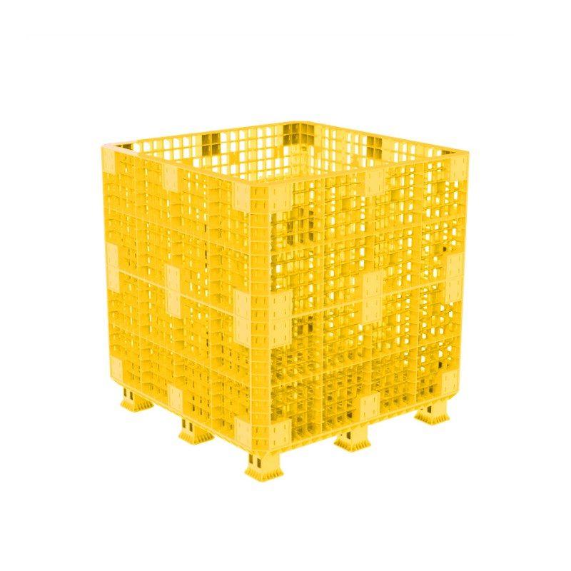 Sóng Lắp Ráp Pallet Box-1,1M Yellow