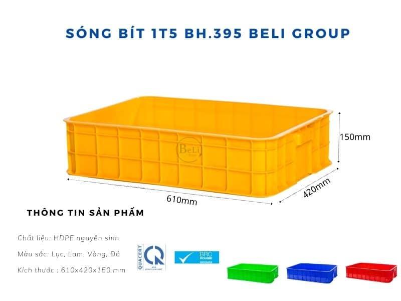 Sóng bít 1T5 BH395 Beli Group