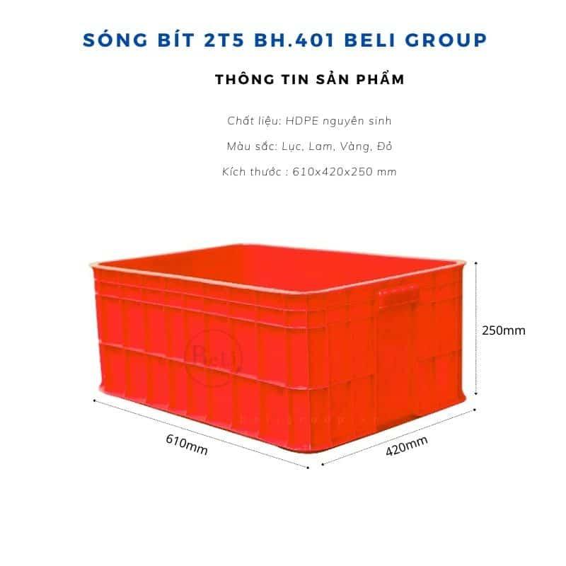 Sóng bít 2T5 BH.401 Red
