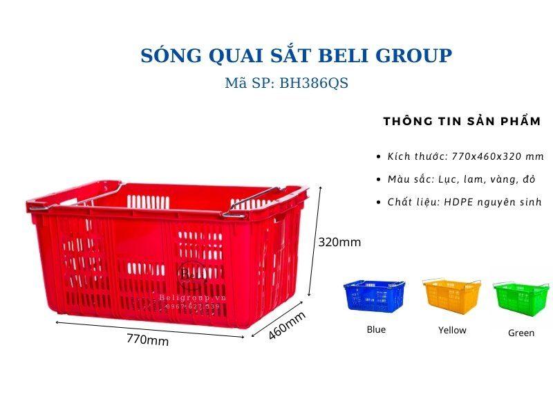 Sóng quai sắt BH386QS Beli Group