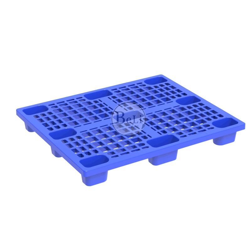 Pallet nhựa Beli Group BL1329 xanh duong - Pallet nhựa mới | Chân cốc  BL1329